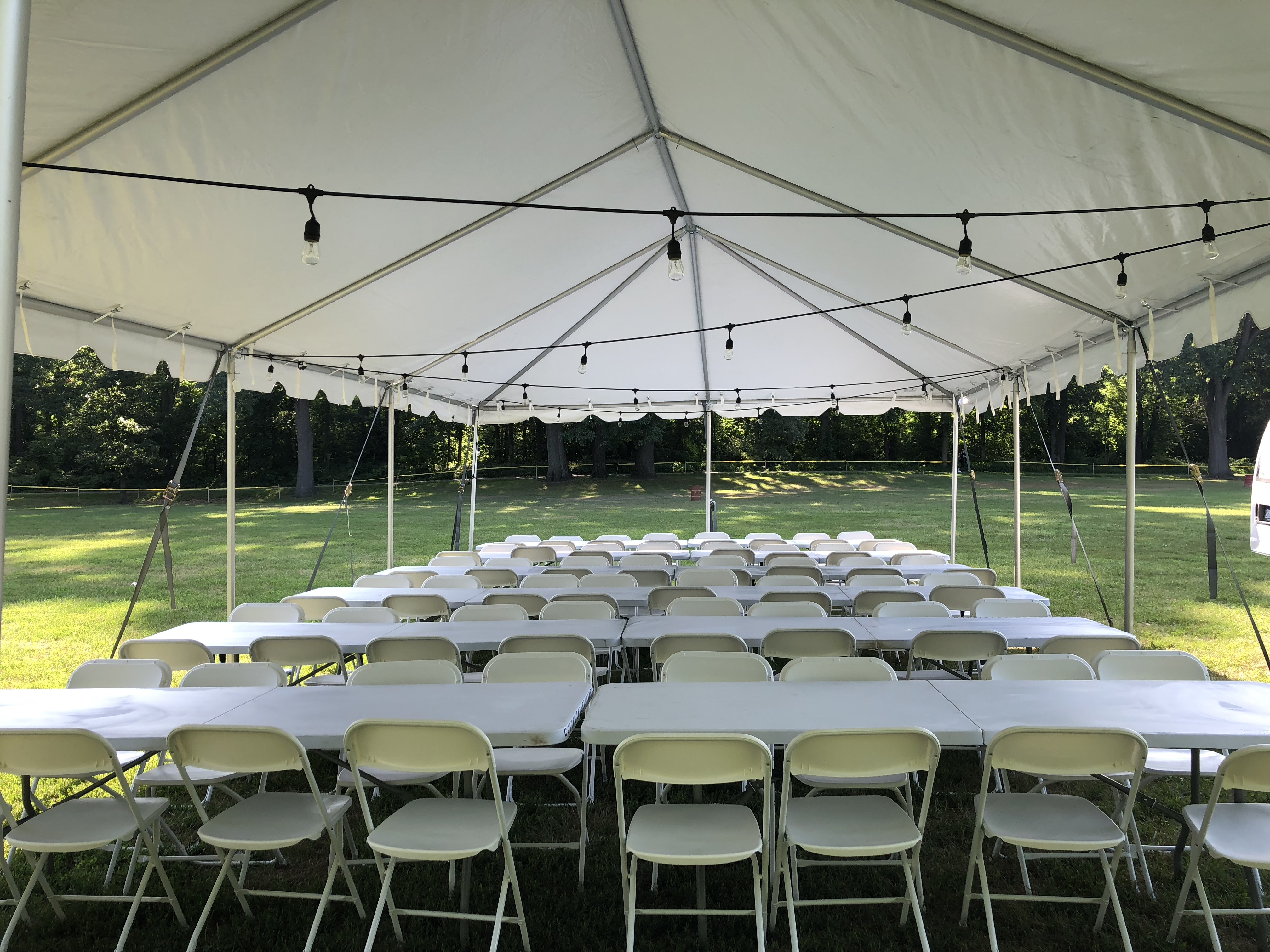 Table and Chair Rental - (Best Party Rentals) TC's Tents ...